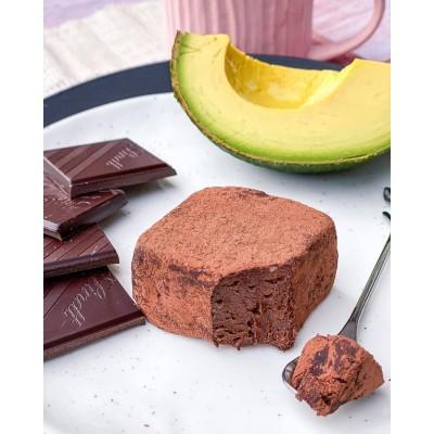 Авокадо-шоколадный дессерт