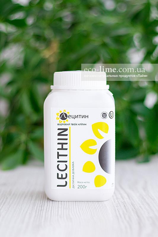 Лецитин подсолнечный в порошке, 200 г