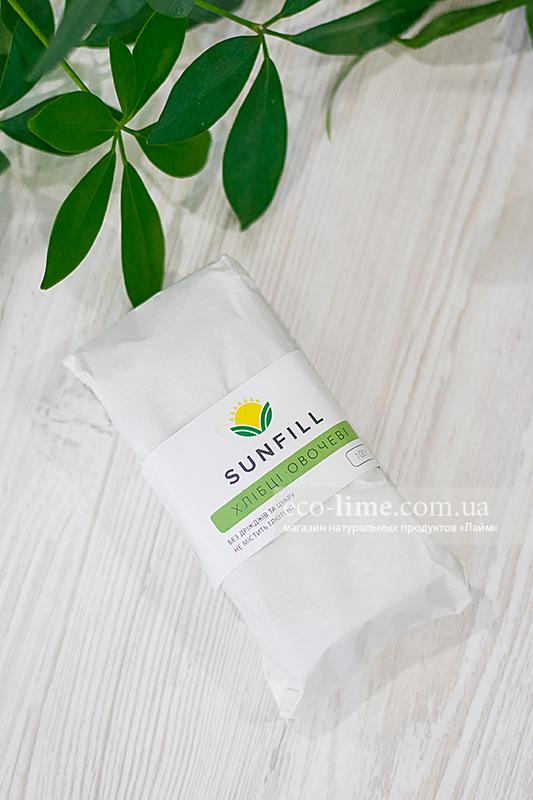 Хлебцы Sunfill Овощные 100г (SunFill)