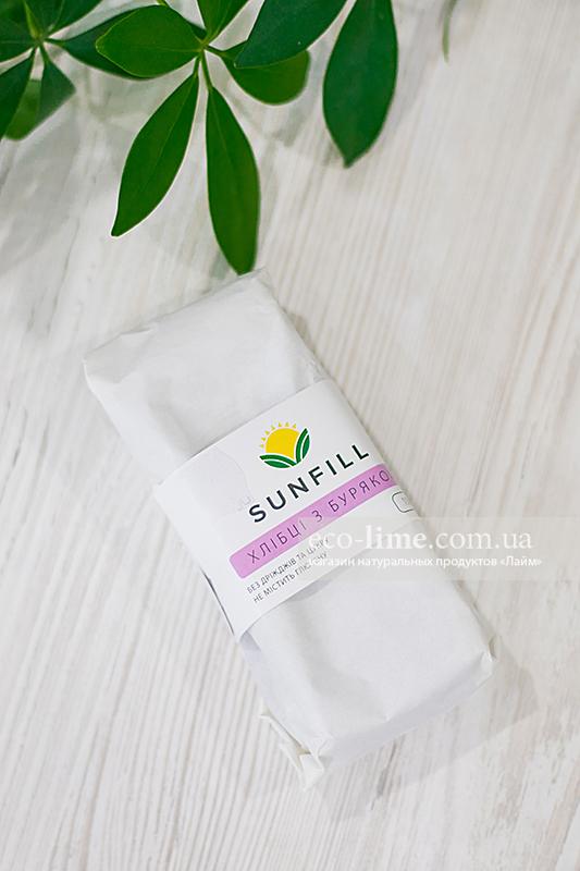 Хлебцы Sunfill Буряк и чернослив 100г (SunFill)