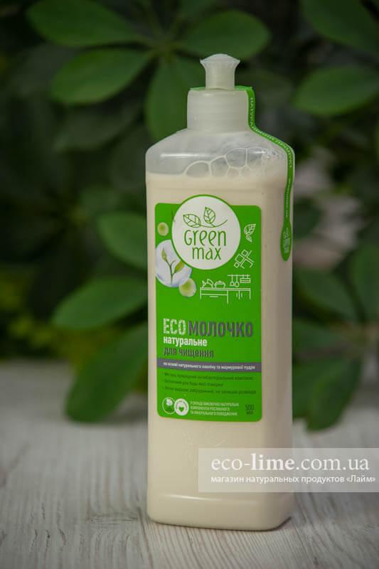 Чистящее молочко для любых поверхностей Green Max, 0,5 л