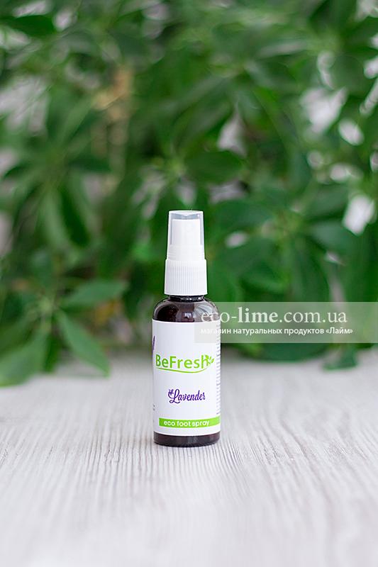 Дезодорант-спрей для ног BeFreshOrganic
