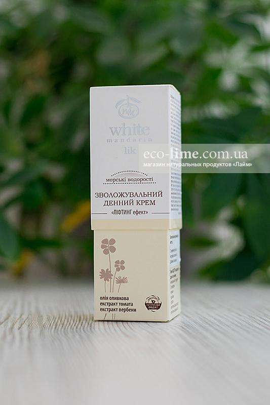 """Крем дневной """"Морские водоросли"""", лифтинг-эффект White Mandarin, 50 г"""