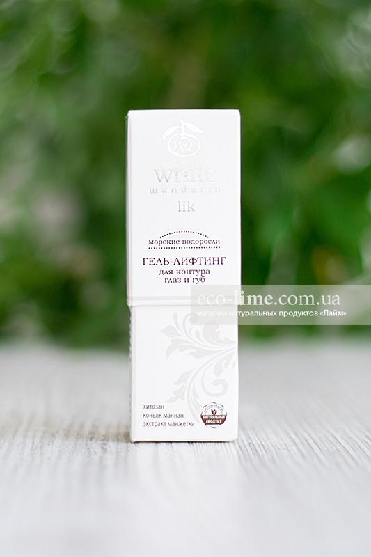 Крем-гель лифтинг (глаза и губы) White Mandarin, 30 мл