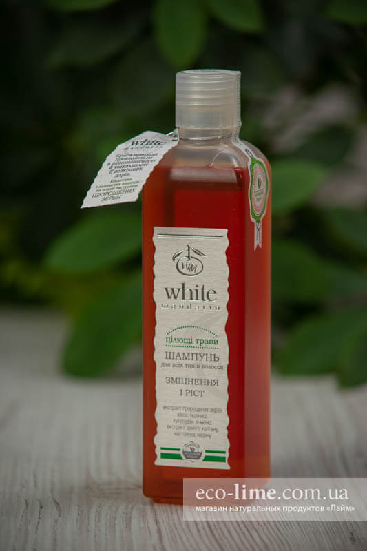 """Шампунь """"Целебные травы"""" White Mandarin, 250 мл"""