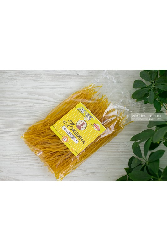 Макаронные изделия ЛАПША кукурузная БЕЗ ГЛЮТЕНА 0,3 кг, MsTally