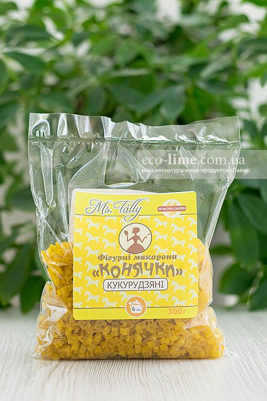 Макаронные изделия Лошадки кукурузные БЕЗ ГЛЮТЕНА 0,3 кг, MsTally