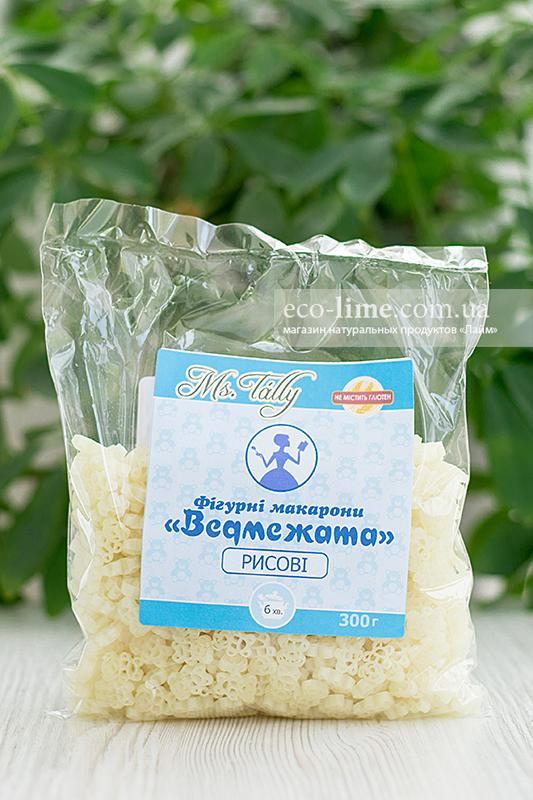 Макаронные изделия Медвежата рисовые БЕЗ ГЛЮТЕНА 0,3 кг, MsTally
