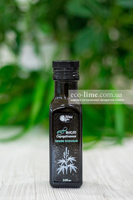 Сыродавленное масло конопли, TM Wild Lime