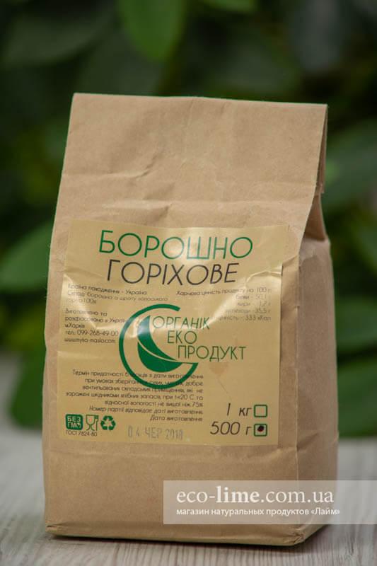 Мука грецкого ореха ОрганикЭкоПродукт, 0,5кг