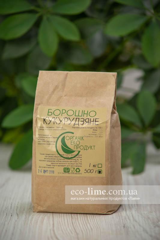 Мука кукурузная ОрганикЭкоПродукт, 0,5 кг