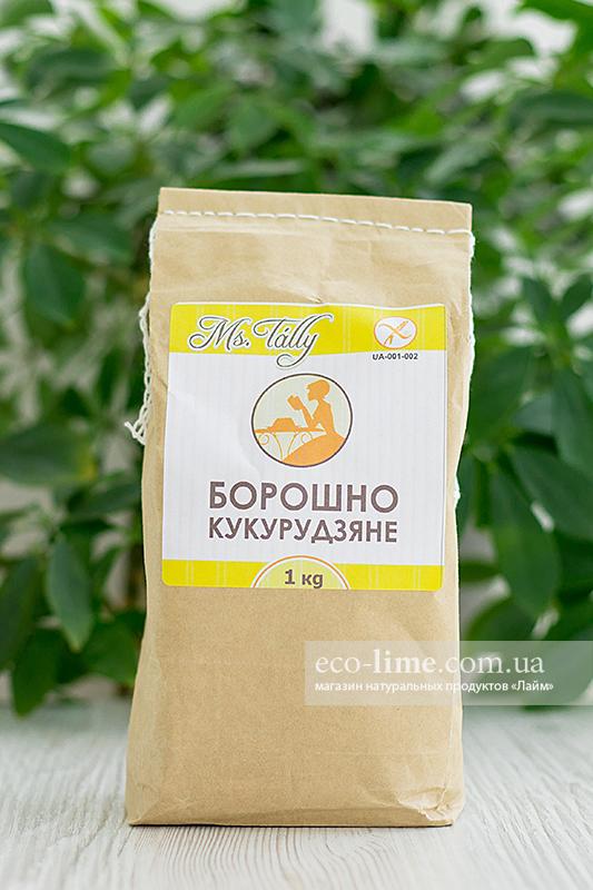 Мука кукурузная БЕЗ ГЛЮТЕНА 1 кг, MsTally