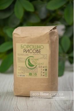 Мука рисовая Органик Эко Продукт, 1кг
