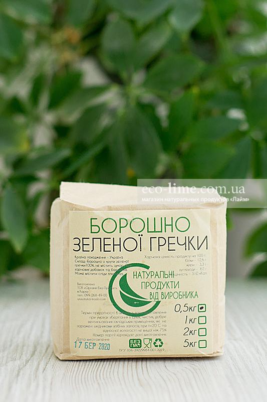 Мука зеленой гречки ОрганикЭкоПродукт, 0,5 кг