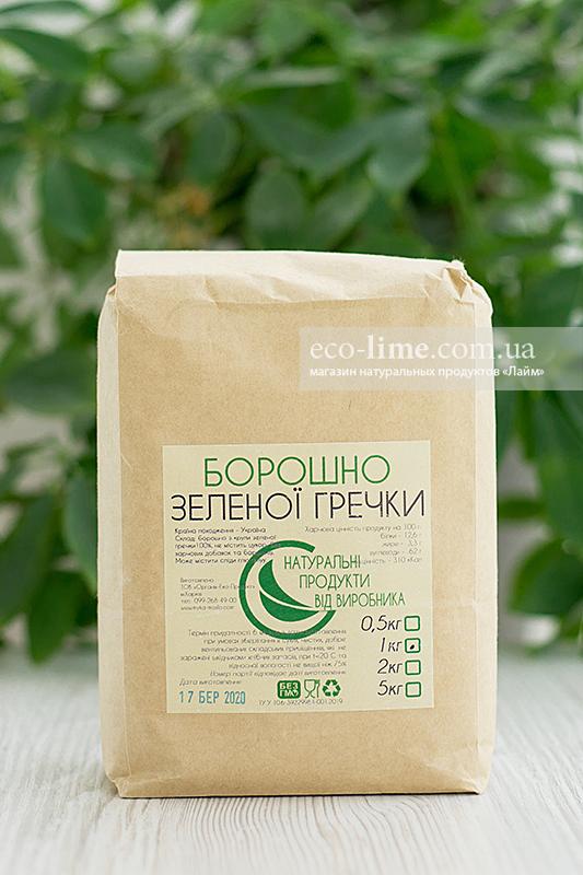 Мука зеленой гречки ОрганикЭкоПродукт, 1кг