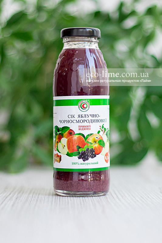 Сок яблоко-смородина натуральный 0,3
