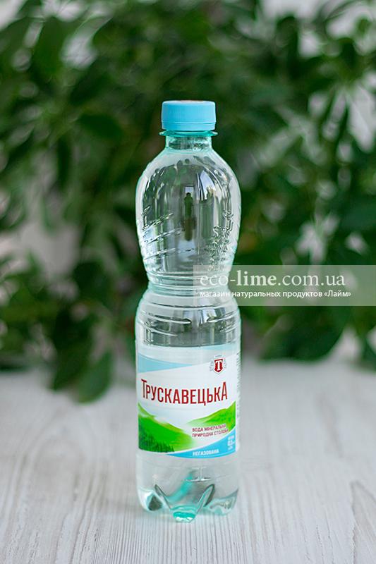 Вода Трускавецкая минеральная негазированная, 0,5 л