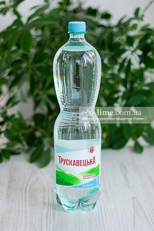 Вода Трускавецкая минеральная негазированная, 1,5 л
