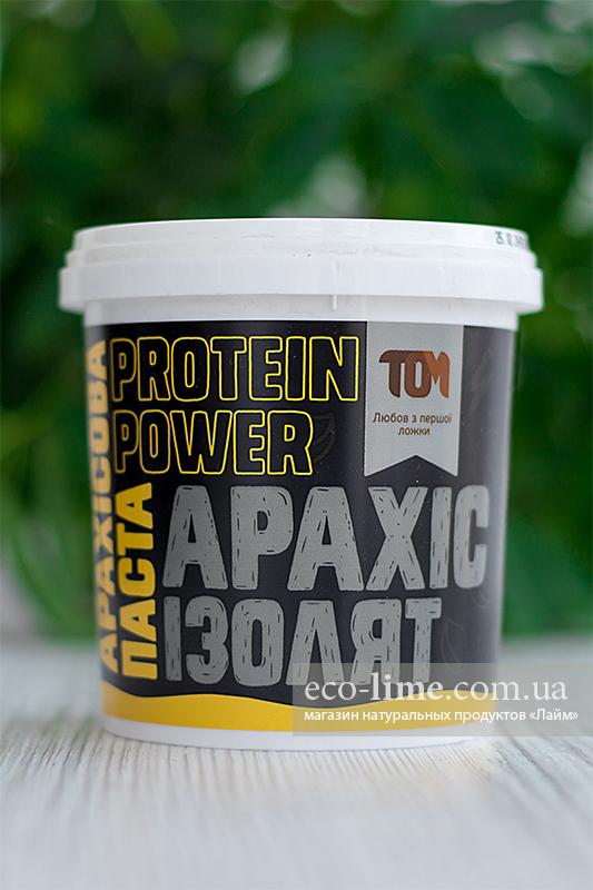 Арахисовая паста ТОМ с сывороточным изолятом (500 г)