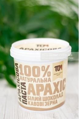 ТОМ Арахисовая паста с белым шоколадом и кофейными зернами (500 гр.)