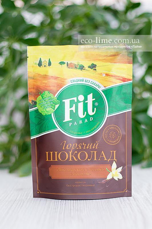 Фитпарад Горячий шоколад со вкусом ВАНИЛИ, 200г