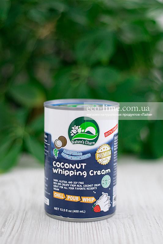 Сливки кокосовые для взбивания, 400 мл