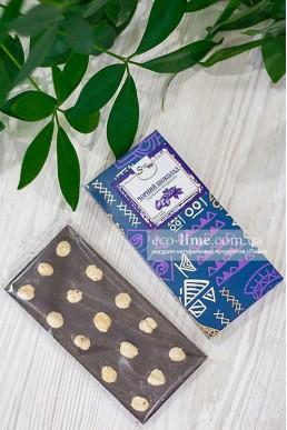 Черный шоколад с цельным фундуком, SweetChoko