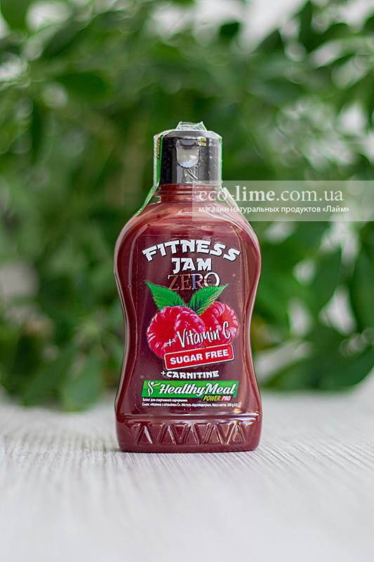 Джем фитнес Power Pro малина с витамином С, 200 гр