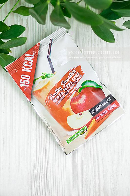 Коктейль Power Pro Фруктовый смузи Морковь-Яблоко-Банан, 40 г