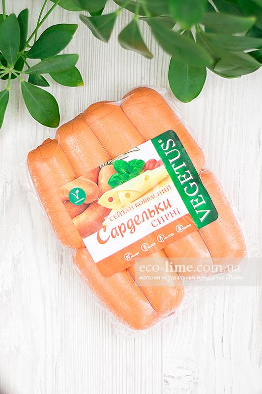 Сардельки с сыром, Vegetus