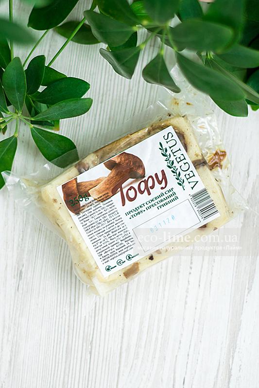 Тофу прессованный с грибами Vegetus, 250г