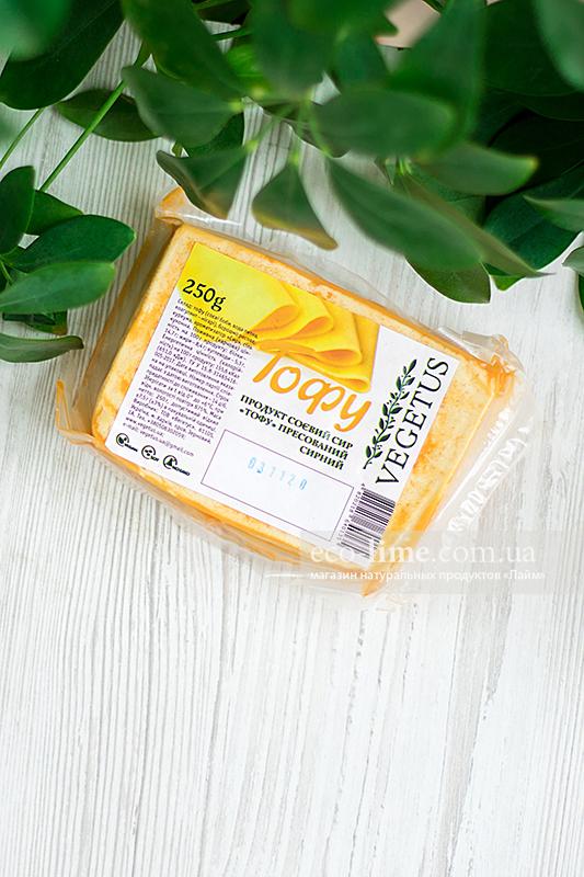 Тофу прессованный с сыром Vegetus, 250г
