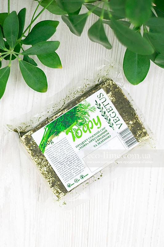 Тофу прессованный с укропом Vegetus, 250г